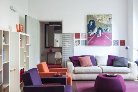 现代风格别墅141平米装潢设计图片