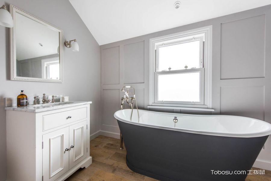 2018北欧浴室设计图片 2018北欧浴缸装修设计