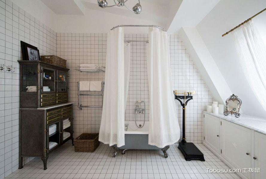 2018混搭浴室设计图片 2018混搭浴缸装修设计