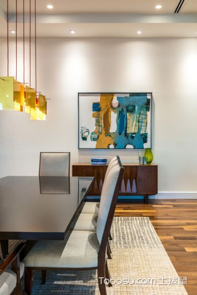 餐厅现代风格效果图大全2017图片_土拨鼠休闲质感餐厅现代风格装修设计效果图欣赏