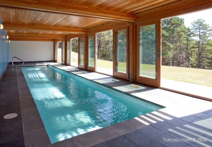 2018现代设计图片 2018现代泳池装修设计图片