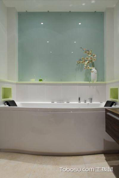 2018现代浴室设计图片 2018现代浴缸装修设计