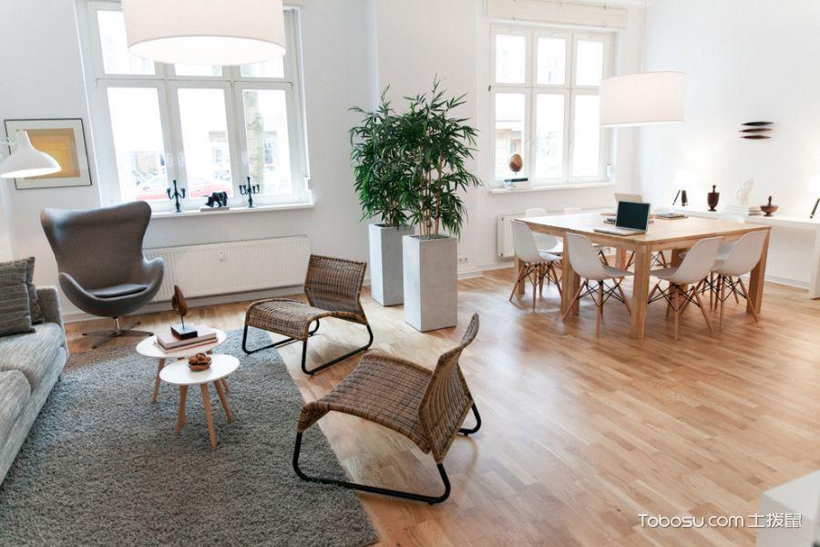 客厅北欧风格效果图大全2017图片_土拨鼠大气质感客厅北欧风格装修设计效果图欣赏