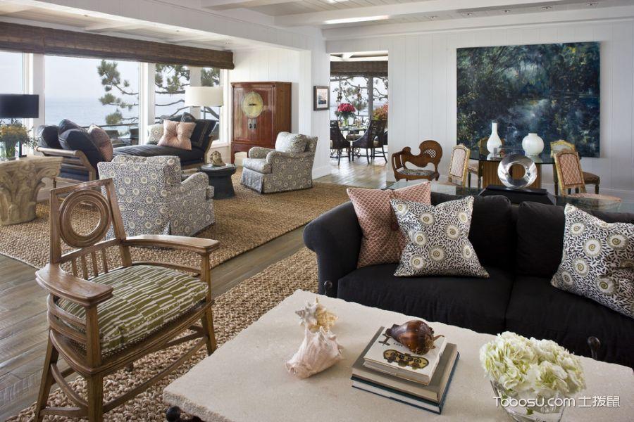 客厅现代风格效果图大全2017图片_土拨鼠奢华纯净客厅现代风格装修设计效果图欣赏