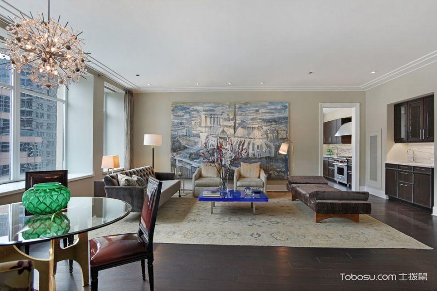 100~120m²/混搭/一居室装修设计