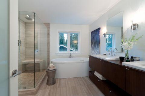 210平米别墅现代风格效果图图片