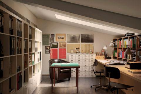 现代风格一居室95平米装潢图