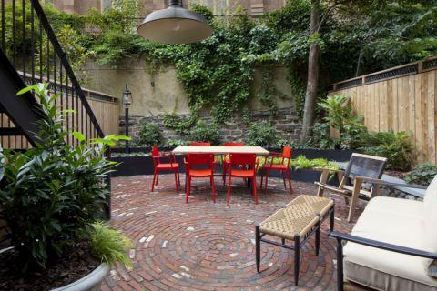 庭院175平米混搭风格装修实景图片