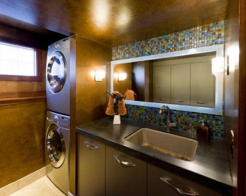 现代风格三居室273平米装修图片