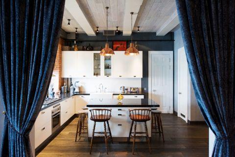 楼房198平米混搭风格装修图片