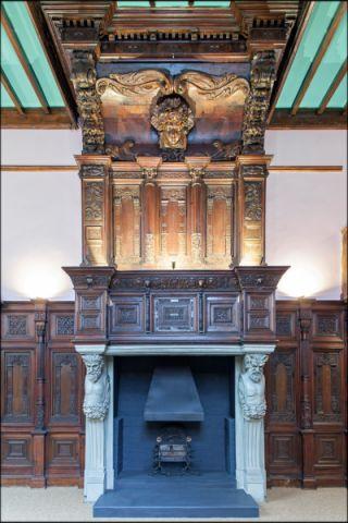 客厅细节美式风格装饰图片