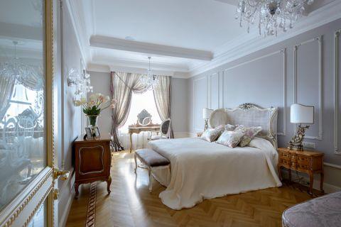 美式风格二居室110平米装修图片