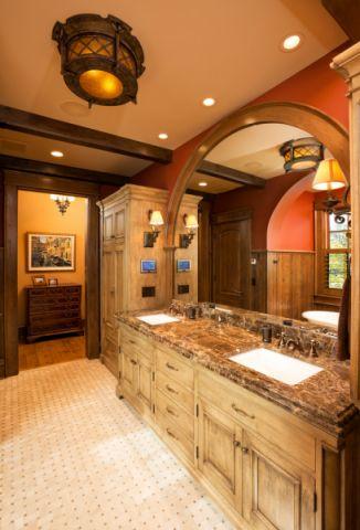 浴室吊顶美式风格装修图片