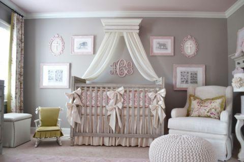 儿童房照片墙美式风格装修设计图片
