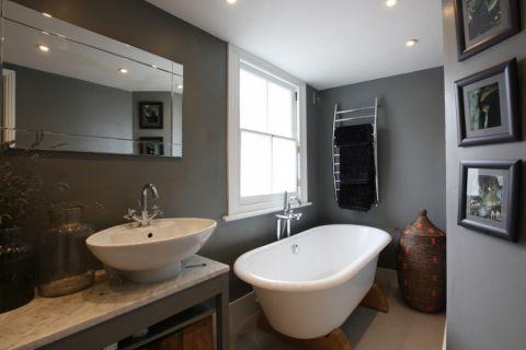 浴室照片墙混搭风格装修效果图