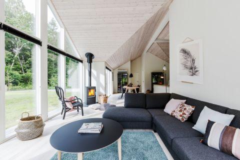 二居室103平米现代风格装修图片