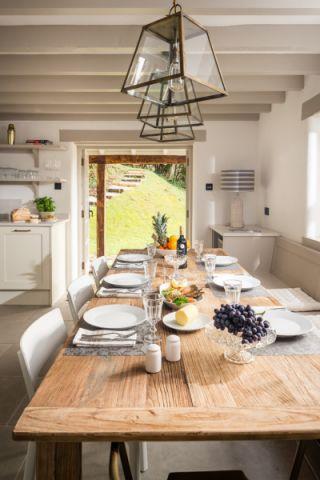 厨房吊顶北欧风格装潢图片