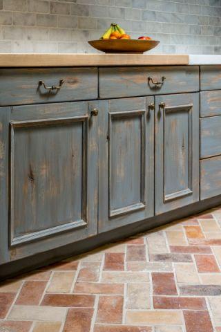 厨房橱柜地中海风格装修效果图