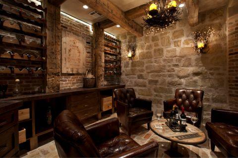 2019地中海酒窖装修设计图片 2019地中海地砖装饰设计