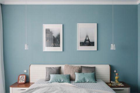 卧室现代风格效果图大全2017图片_土拨鼠休闲纯净卧室现代风格装修设计效果图欣赏