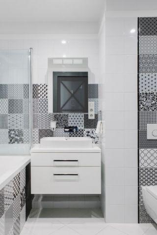 浴室现代风格装修效果图