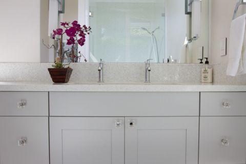 浴室现代风格装潢设计图片