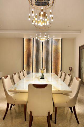 餐厅混搭风格装饰设计图片
