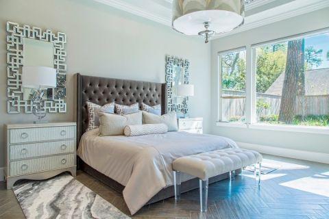 卧室现代风格装潢图片