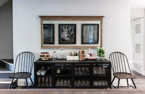 餐厅照片墙现代风格装饰效果图