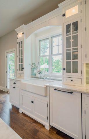 厨房窗台美式风格装潢设计图片