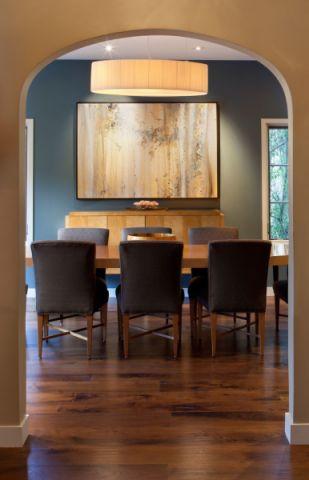 餐厅背景墙现代风格装修图片
