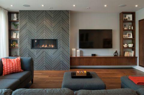 客厅现代风格效果图大全2017图片_土拨鼠浪漫创意客厅现代风格装修设计效果图欣赏