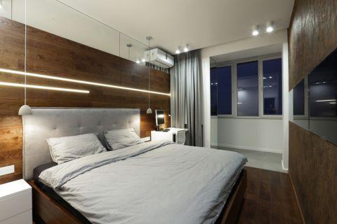 卧室现代风格效果图大全2017图片_土拨鼠清新时尚卧室现代风格装修设计效果图欣赏