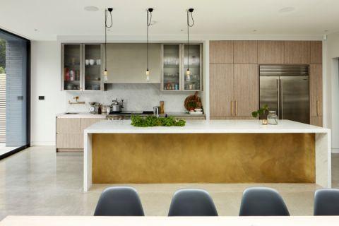 厨房现代风格效果图大全2017图片_土拨鼠温馨个性厨房现代风格装修设计效果图欣赏