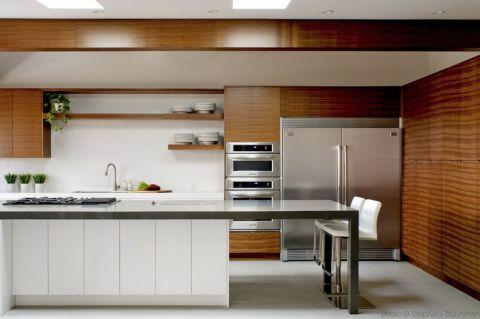 厨房美式风格效果图大全2017图片_土拨鼠潮流自然厨房美式风格装修设计效果图欣赏