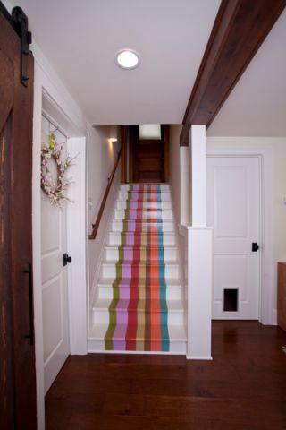 楼梯混搭风格装饰设计图片