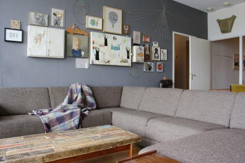 客厅混搭风格装修图片