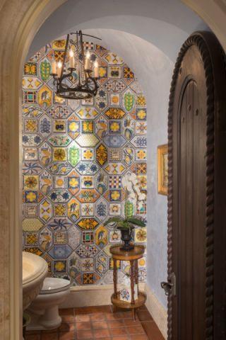 卫生间地中海风格装饰效果图