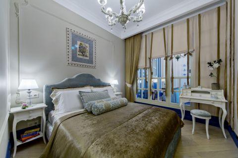 卧室美式风格效果图大全2017图片_土拨鼠简洁休闲卧室美式风格装修设计效果图欣赏