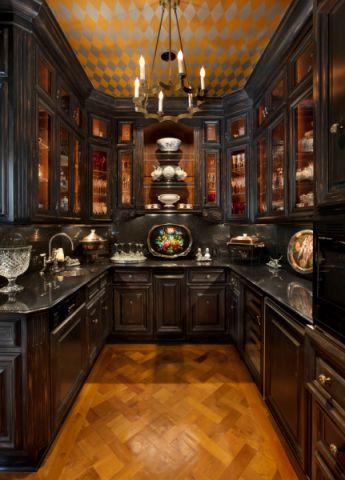 厨房地中海风格装潢图片