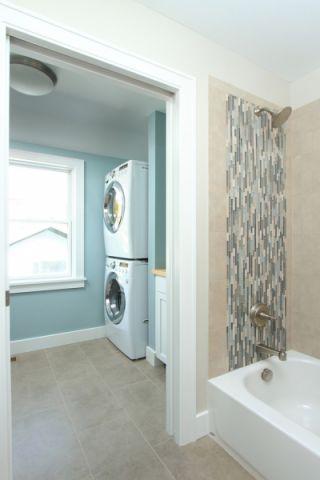 卫生间混搭风格装潢设计图片