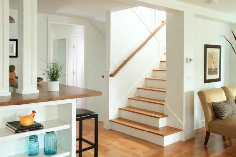楼梯混搭风格装潢效果图