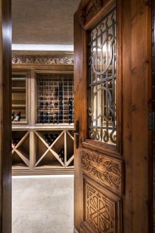 酒窖楼梯美式风格装修效果图