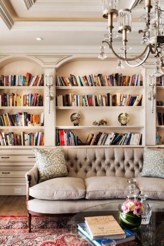 客厅美式风格装饰效果图