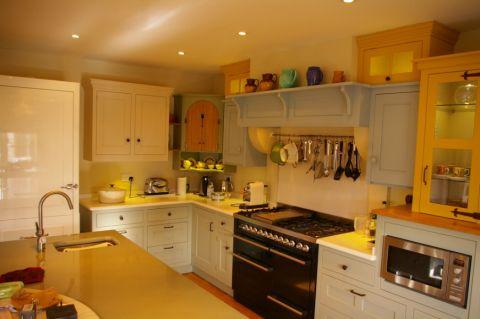 厨房混搭风格效果图大全2017图片_土拨鼠古朴摩登厨房混搭风格装修设计效果图欣赏