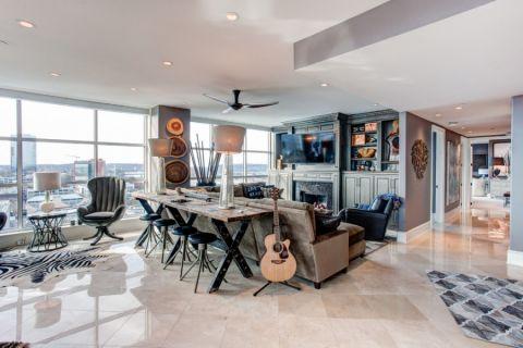 客厅现代风格装饰图片