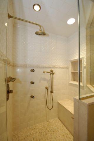 浴室地中海风格装潢图片