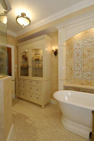 浴室地中海风格效果图