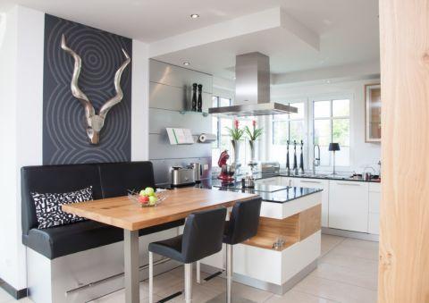 厨房现代风格效果图大全2017图片_土拨鼠完美质朴厨房现代风格装修设计效果图欣赏