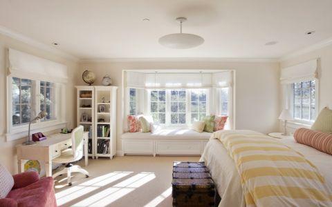 卧室美式风格效果图大全2017图片_土拨鼠潮流创意卧室美式风格装修设计效果图欣赏